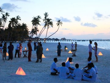 Soneva Fushi by Six Senses, Maldives beach