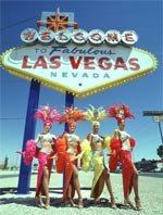 Las Vegas holidays - always a warm welcome