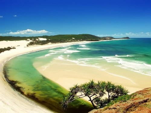 Queensland beach holiday
