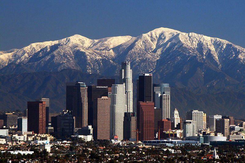 Los Angeles holidays - amazing views