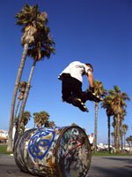 Los Angeles holidays - a skaters paradise