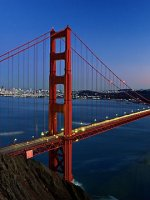 San Francisco holidays - admire the Golden Gate Bridge