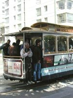 San Francisco Holidays - travel by traditional street car
