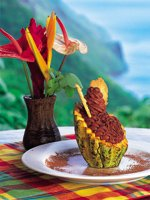 St Lucia Holidays - gourmet food bursting with local flavour