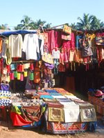 Goa Holidays - traditional markerts