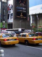 New York Holidays - take a yellow cab ride
