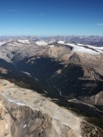 Icefields Aerial
