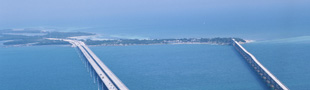 The famous Florida Keys bridges